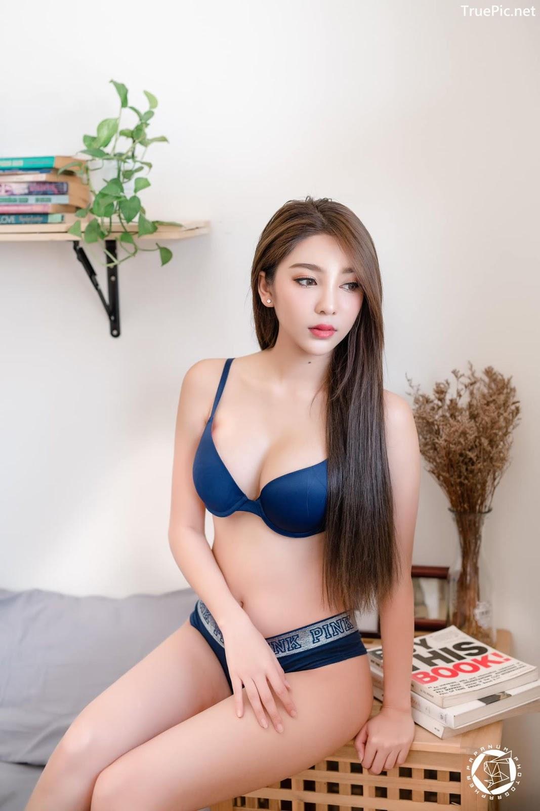Image-Thailand-Sexy-Model-Printlaaplus-Zhaengchohm-Navy-Blue-Lingerie-TruePic.net- Picture-4