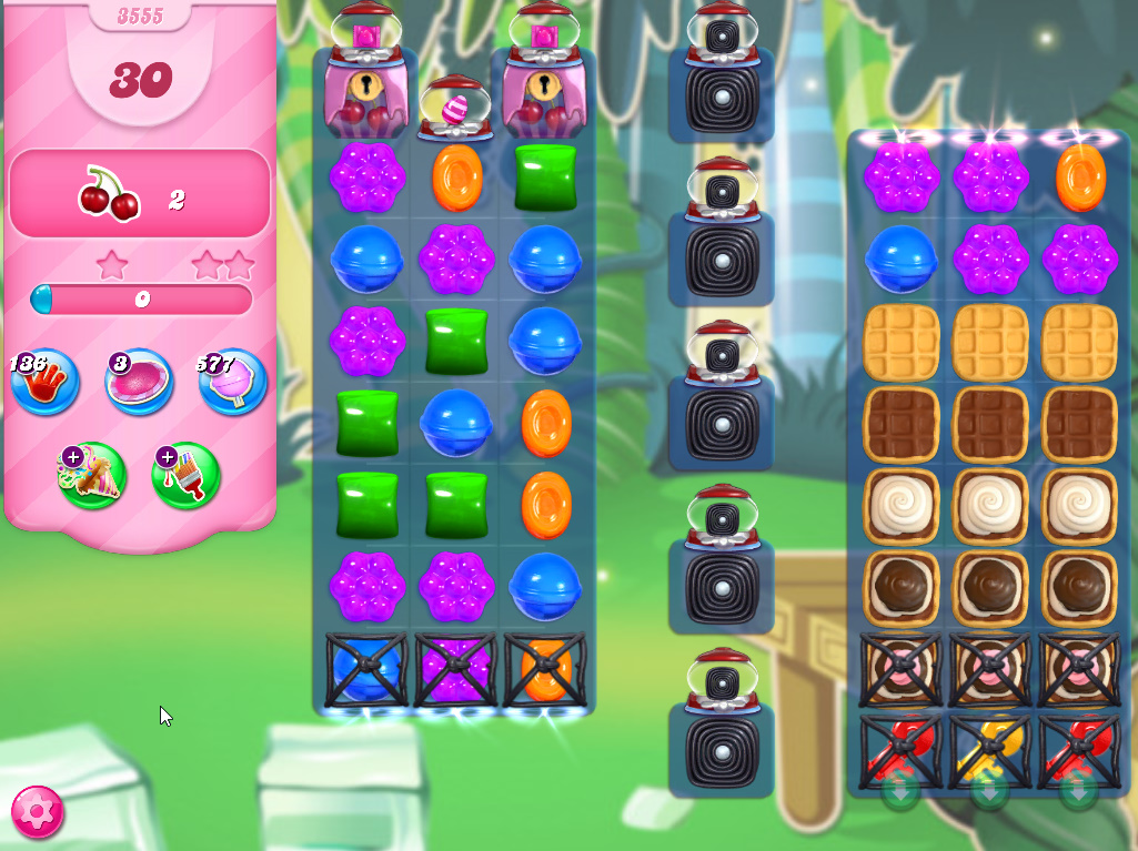 Candy Crush Saga level 3555