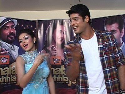 Siddharth Shukla with Drashti Dhami