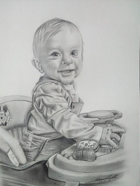 Antoine Delesalle portraits d'enfants