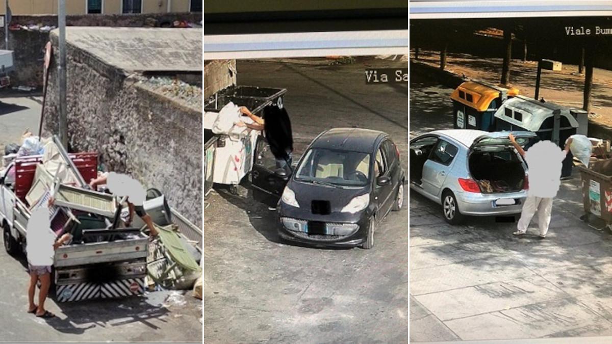 Rifiuti verbali Polizia Ambientale Comune di Catania