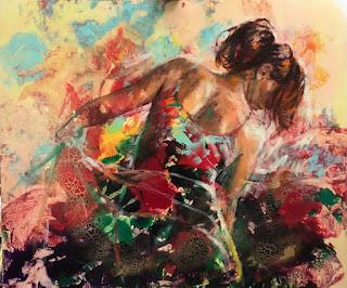 retratos-de-mujeres-en-colores-y-contrastes-vibrantes chicas-pinturas-colores-vibrantes