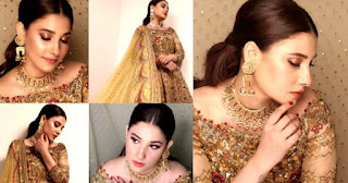 Hina Altaf Looks Mesmerizing in Bridal Photoshoot