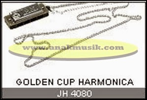 Harmonika Golden Cup JH4080 Necklace