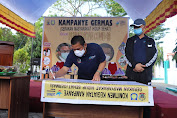Sinergitas Dinkes Selayar dan Sulsel Kampanye Germas untuk Cegah Covid-19