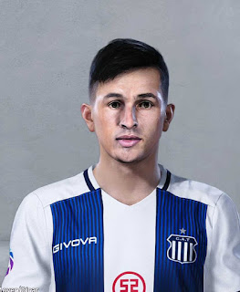 PES 2020 Faces Andrés Cubas by Danger