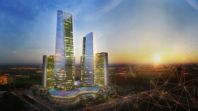 dự án Sunshine Empire Ciputra 88 tầng Hà Nội Tower Sky Villas khu đô thị Ciputra Phạm Văn Đồng