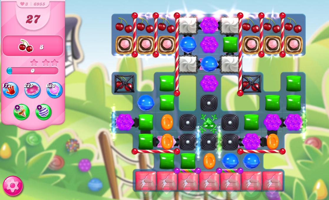 Candy Crush Saga level 6955