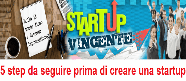 Step da seguire prima di creare una startup
