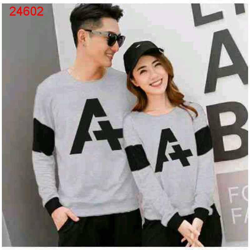 Jual Sweater Couple Sweater Alpha Neo Misty - 24602