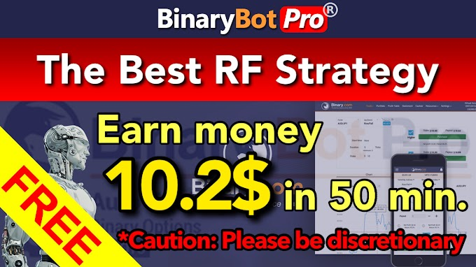 The Best RF Strategy | Binary Bot Pro