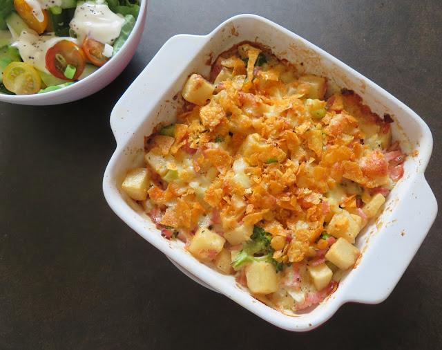 Ham & Broccoli Casserole
