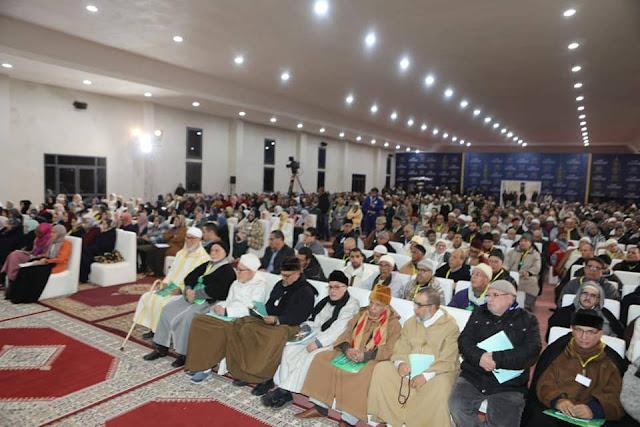 """الطريقة القادرية البودشيشية  تحيِي الذكرى الثالثة لوفاة الشيخ سيدي حمزة وتعقد """"مجلس الطريقة""""."""