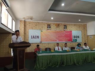 Diskusi Publik Dema IAIN Cirebon, Ajak Rekonsiliasi Pasca Pemilu 2019