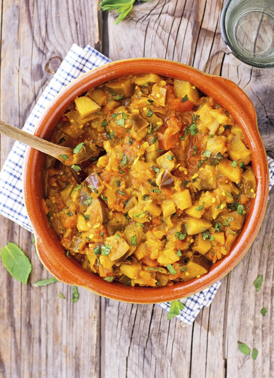 The iron you vegan persian eggplant stew vegan persian eggplant stew print this recipe barely adapted from silk road vegetarian forumfinder Images
