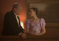 Kelsey Grammer and Lily Collins in The Last Tycoon Series (2)