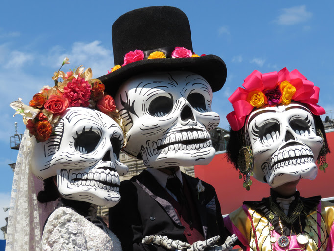 Dia de los Muertos in Mexico (Day of the Dead)
