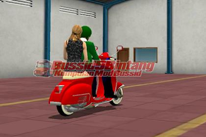 Mod Bussid Motor Vespa Super 150