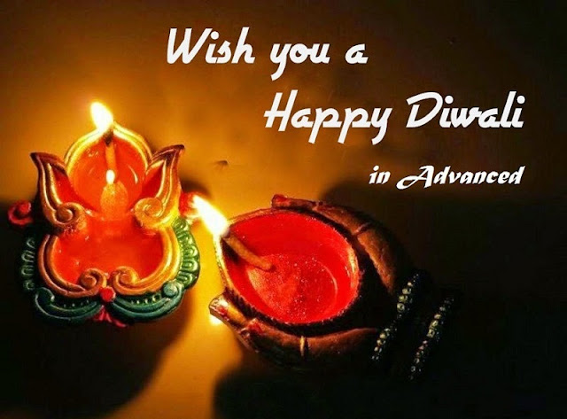 Advance Happy Diwali Wishes