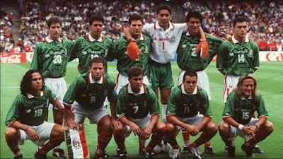 México Mundial Francia 1998