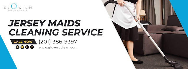 Get a secure and trustworthy house cleaning service for your house without any worry. Glow up clean is a cleaning service provider that offers exceptional Jersey maids cleaning service for you. We have expert maids with years of training to help you manage your house with their expertise. We guarantee the security of our service.