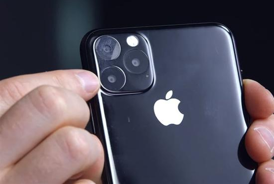The model closest to the real machine is exposed to the iPhone 11 Max.