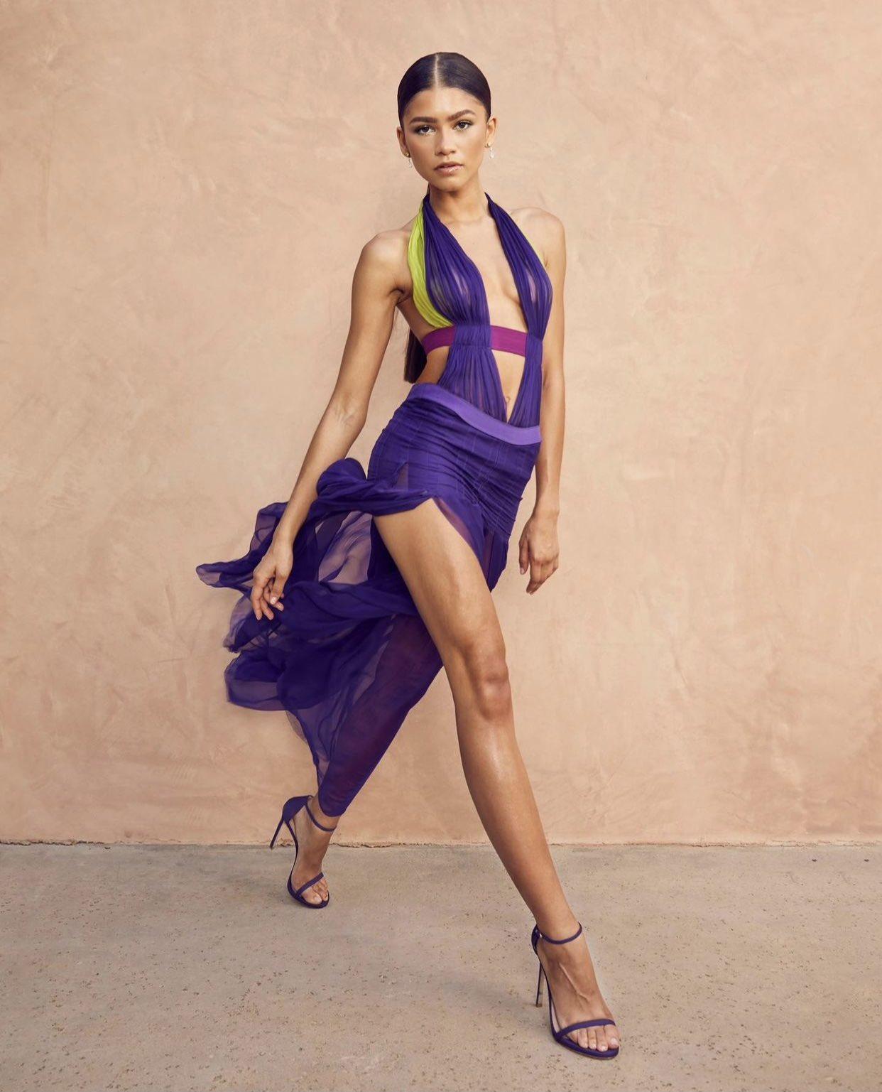 Zendaya is fierce in Versace at the 2021 BET Awards
