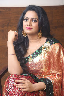 Udaya Bhanu lookssizzling in a Saree Choli at Gautam Nanda music launchi ~ Exclusive Celebrities Galleries 012.JPG