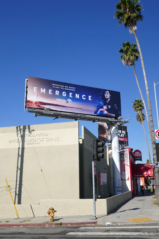 Emergence season 1 billboard
