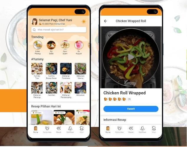Yuk, Kita Intip Fitur Terbaru Pada Yummy App