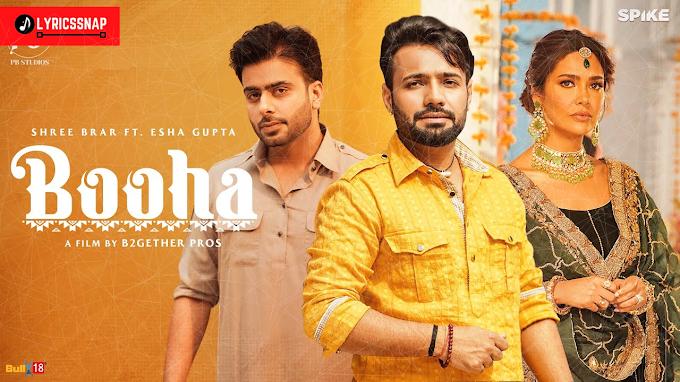 Booha Lyrics - Shree Brar    Mankirat Aulakh   New Punjabi Song 2021
