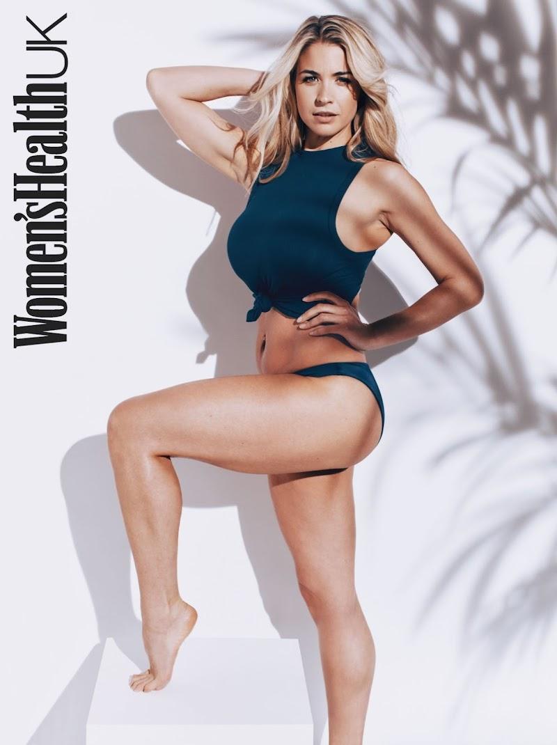 Gemma Atkinson Featured in Women's Health Magazine - UK March 2020
