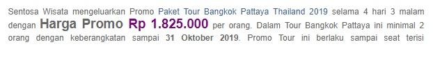 paket wisata ke thailand