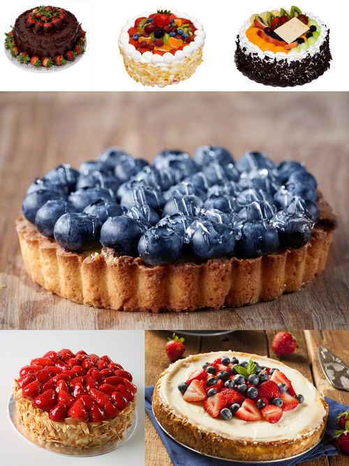 تحميل 6 صور لكعك من الفواكه بجودة عالية