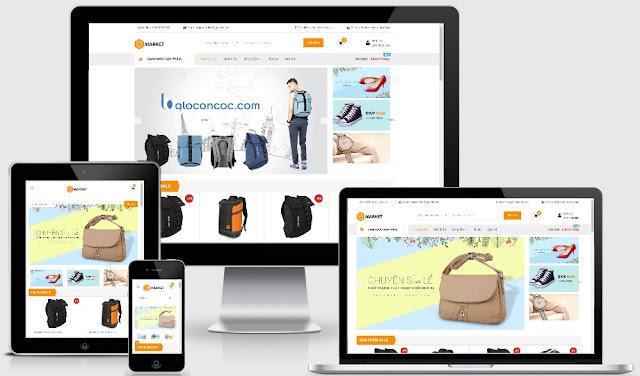 Template blogspot bán hàng Balo thương Hiệu SMarket chuẩn W3C - Ảnh 1