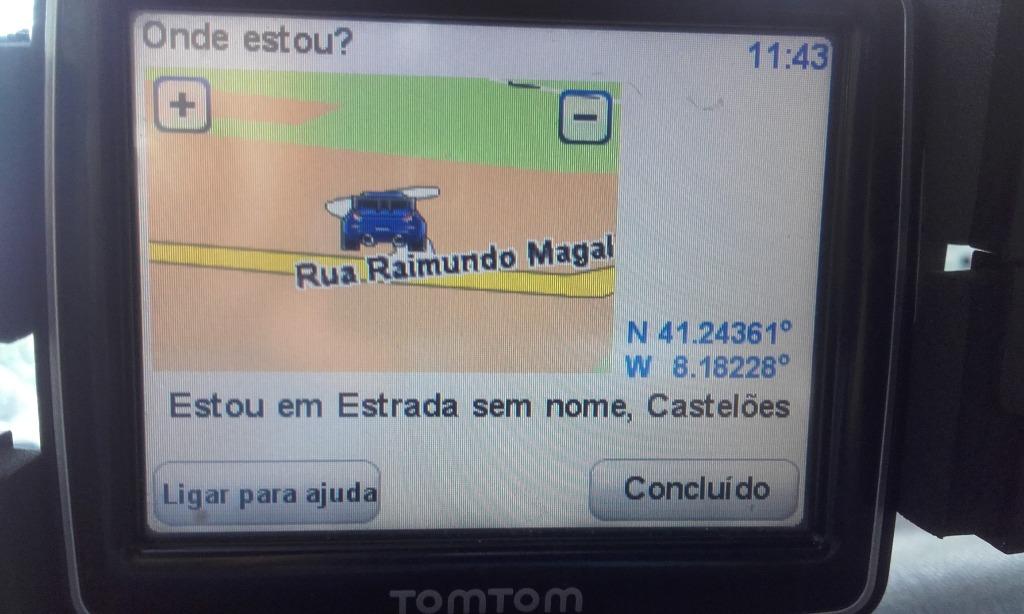 Coordenas GPS praia de Vila Meã