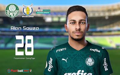 PES 2021 Faces Alan Souza by CongNgo