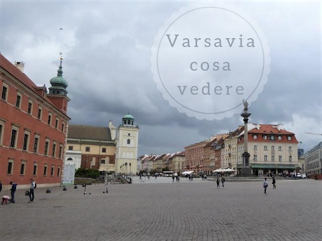Cosa vedere a Varsavia in due giorni: piazza del Castello