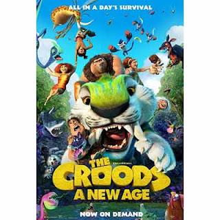 Crood'lar 2: Yeni Bir Çağ 2020 Afiş