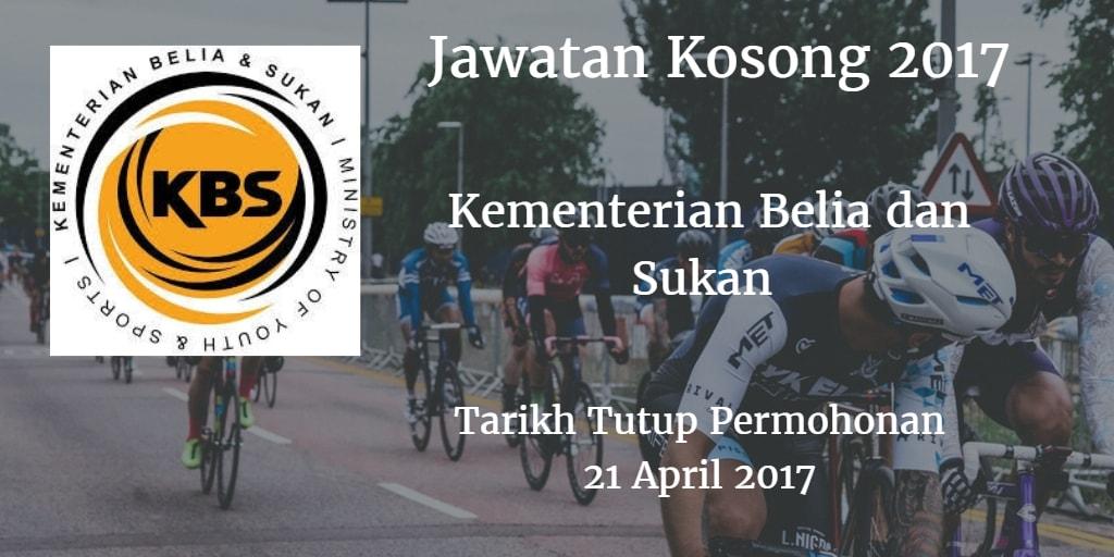 Jawatan Kosong KBS 21 April 2017