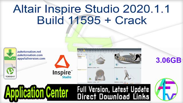 Altair Inspire Studio 2020.1.1 Build 11595 + Crack