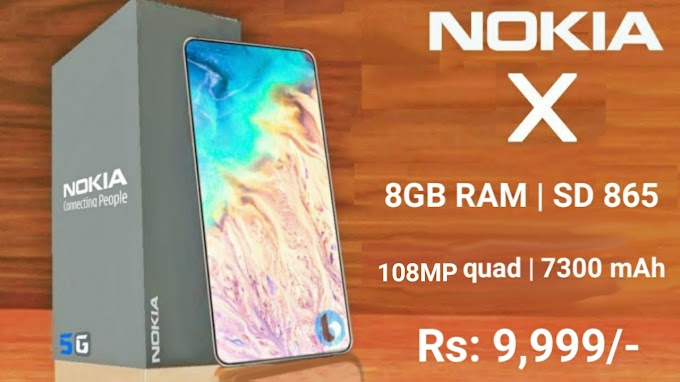 Nokia X Coming Soon With 108MP Quad Camera, 7300mAh Battery, & 32Mp Pop-up Selfie Camera India