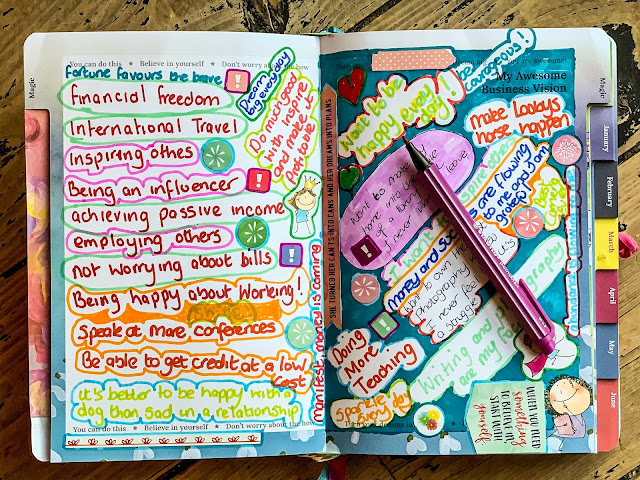 writing in my business planner, world handwriting day, stabilo, mandy charlton, photographer, writer, blogger