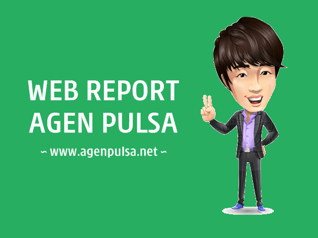 Fasilitas Web Report Member Area AgenPulsa.net