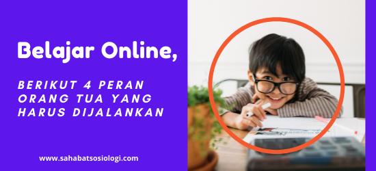 Peran Orang Tua dalam Belajar Online