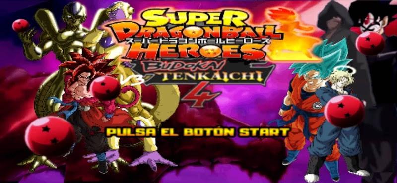 Super Dragon Ball Heroes AF PPSSPP ISO MOD Download