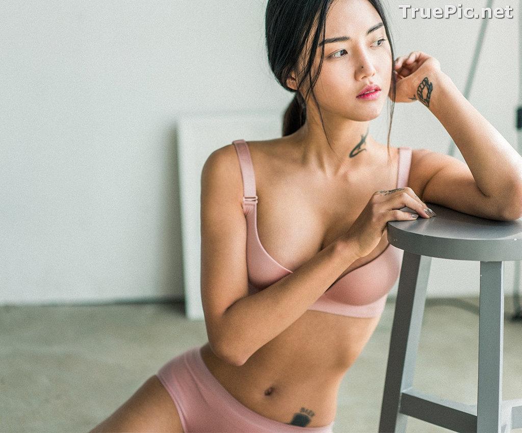 Image Korean Fashion Model – Baek Ye Jin – Sexy Lingerie Collection #5 - TruePic.net - Picture-9