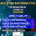 BOLETIM EPIDEMIOLÓGICO DESTA TERÇA-FEIRA (14/04/2020)