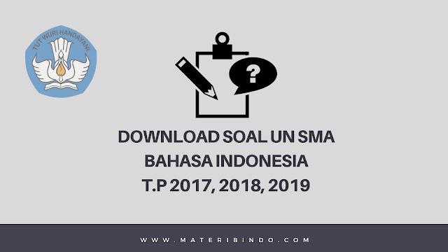 download soal UN SMA Bahasa Indonesia