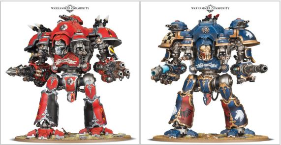 New New Knights with Prices! The Imperial Knights Codex... Plus a look at what they are and More